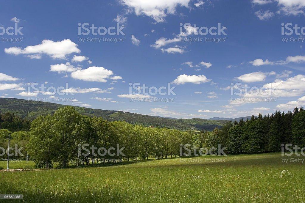 Идиллический пейзаж Стоковые фото Стоковая фотография
