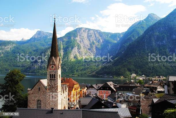 Photo of Idyllic old fashioned town in Austria