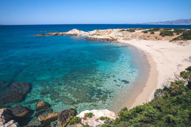 Idyllischer Fernstrand in Naxos – Foto