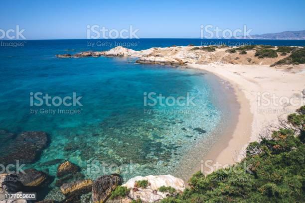 Photo of Idyllic Remote Beach In Naxos