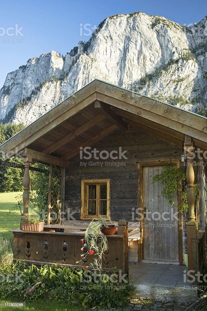 Idyllic Scene in the Austrian Alps royalty-free stock photo