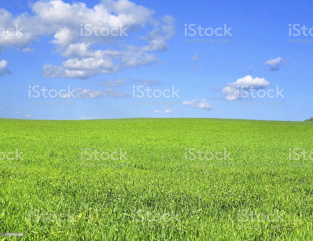 idyllic scenery royalty-free stock photo