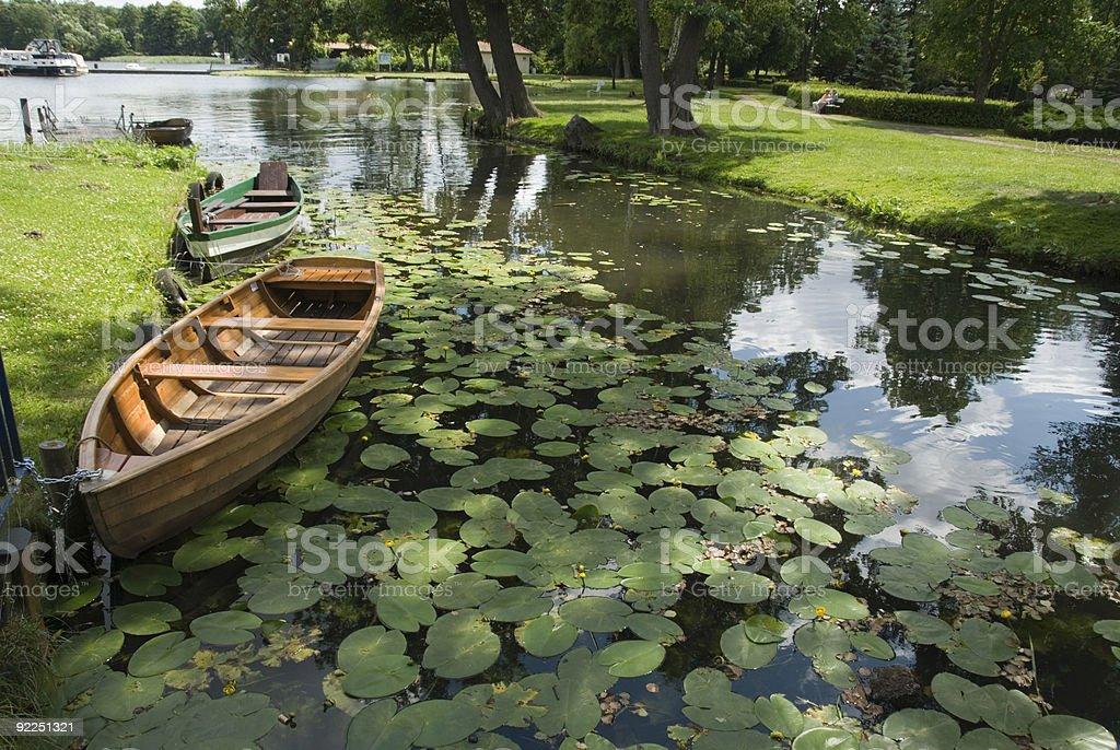 Idyllic scenics in Brandenburg royalty-free stock photo