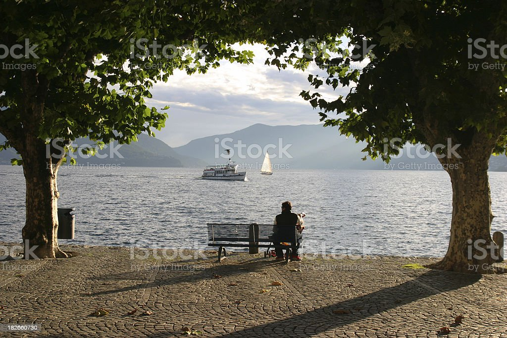 Idyllic Tessin stock photo