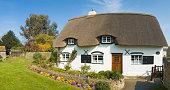 Idyllic thatched cottage