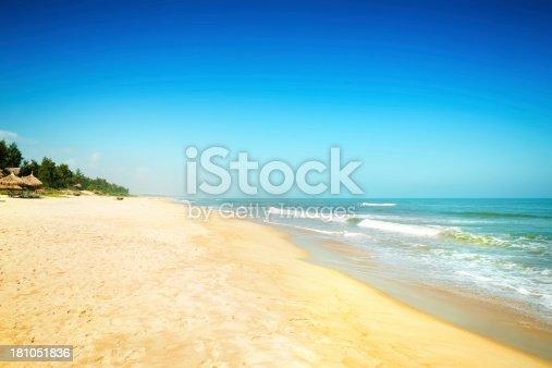 Idyllic Tropical Beach In Vietnam