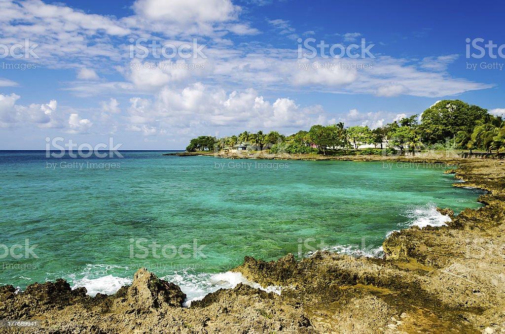 Idyllic Turquoise Bay stock photo