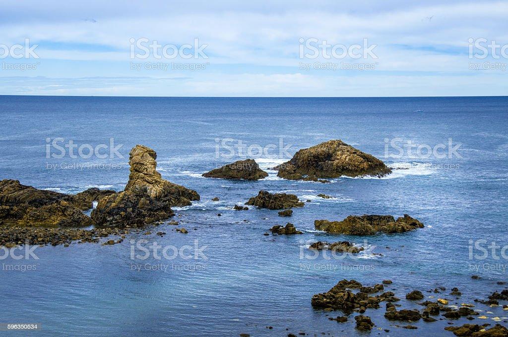Idyllic view of a coast in Spain Lizenzfreies stock-foto