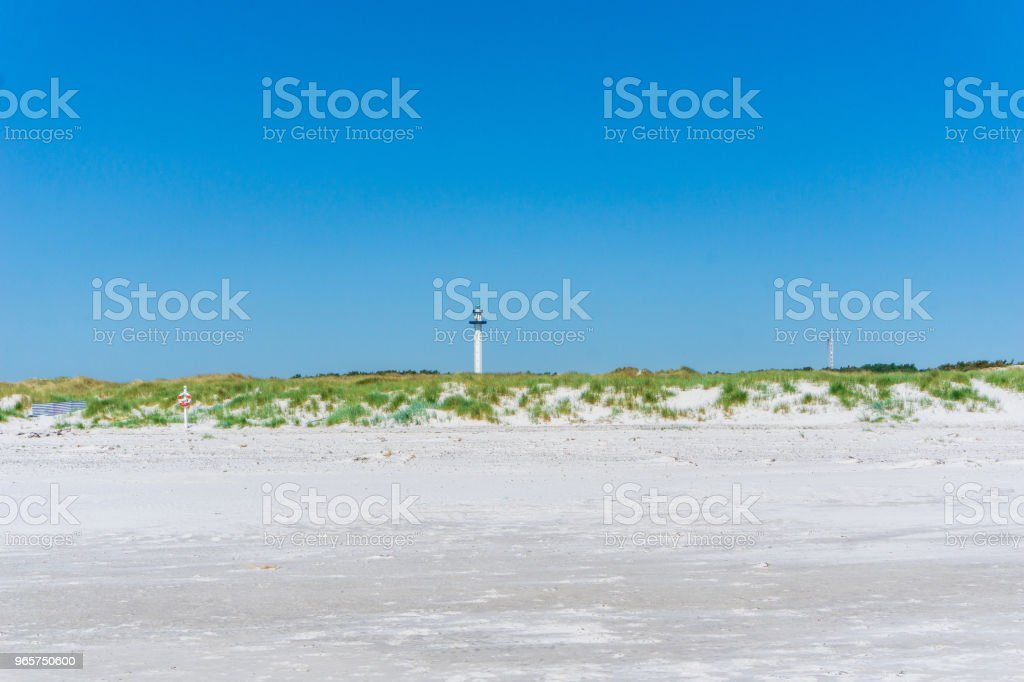 Idyllic view of Danish landscape, Bornholm, Denmark on a day in summer - Royalty-free Backgrounds Stock Photo
