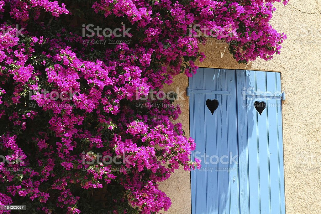 Idyllic view of Soth houses stock photo