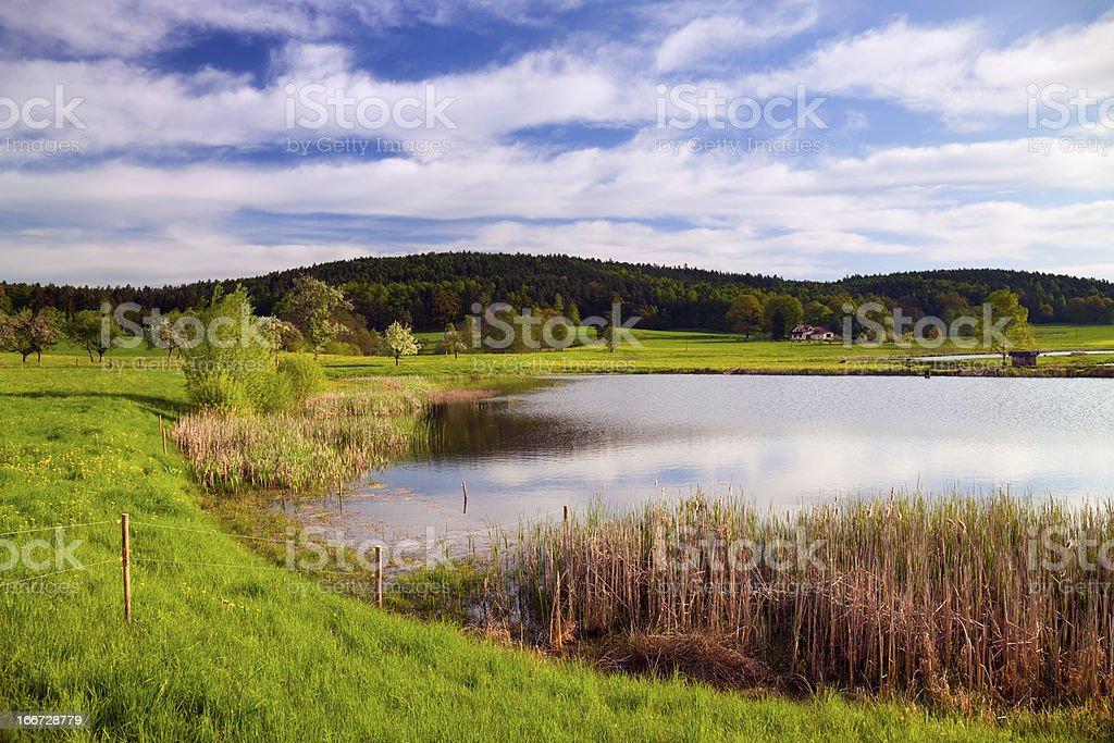 idyllic water stock photo