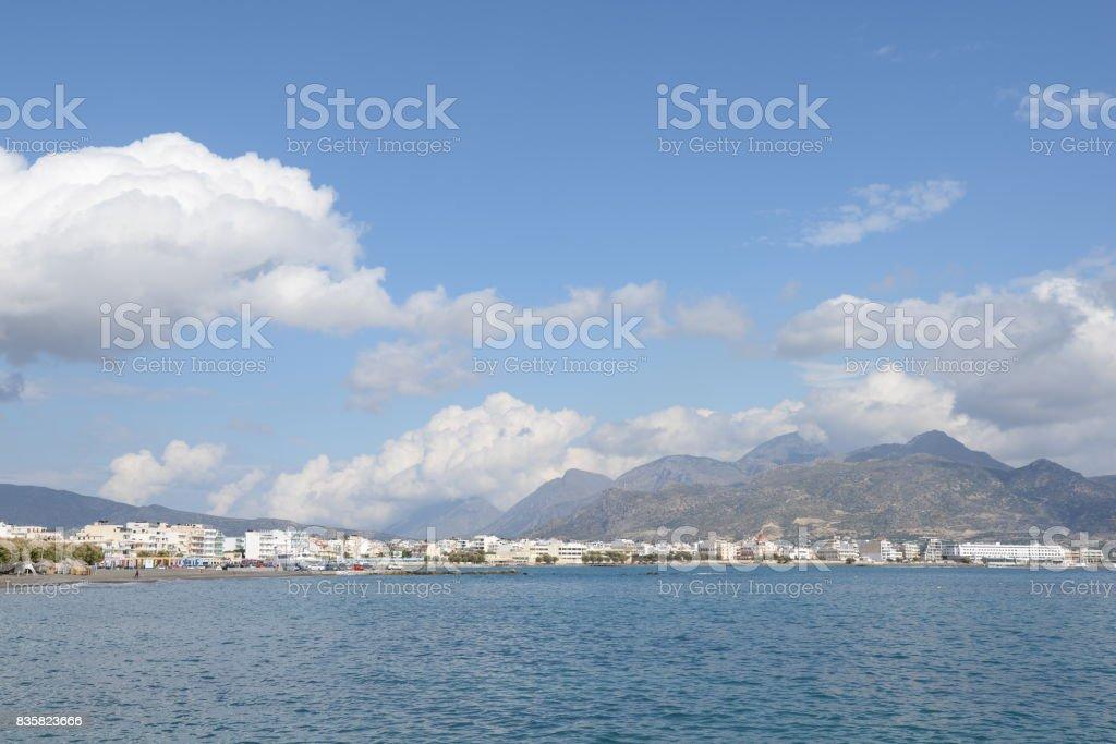 Ierapetra, Crete stock photo