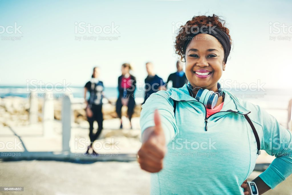 If I can do it, so can you! royalty-free stock photo