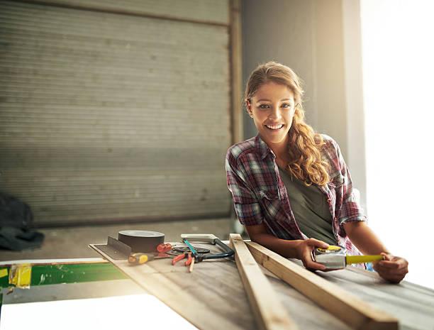 Handwerker Frau - Bilder und Stockfotos - iStock