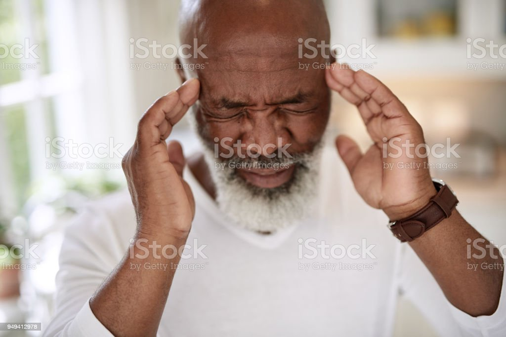 If only this pain would go away stock photo