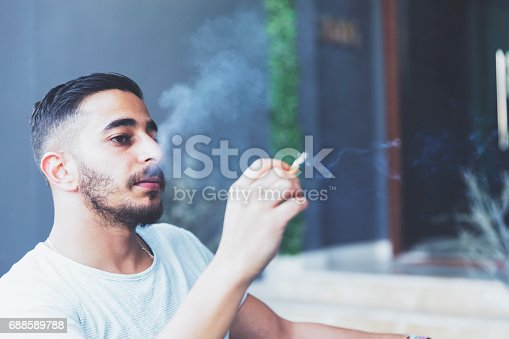 istock If only worries could be blown away life cigarette smoke 688589788