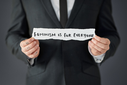 If You Believe In Equality You Believe In Feminism Stock Photo - Download Image Now
