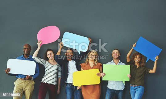 1048561866istockphoto If you got something to say, say it 854446650