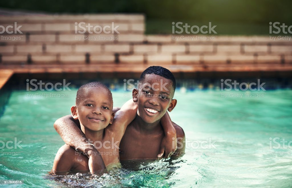 If you have a brother, you'll always have a friend stock photo