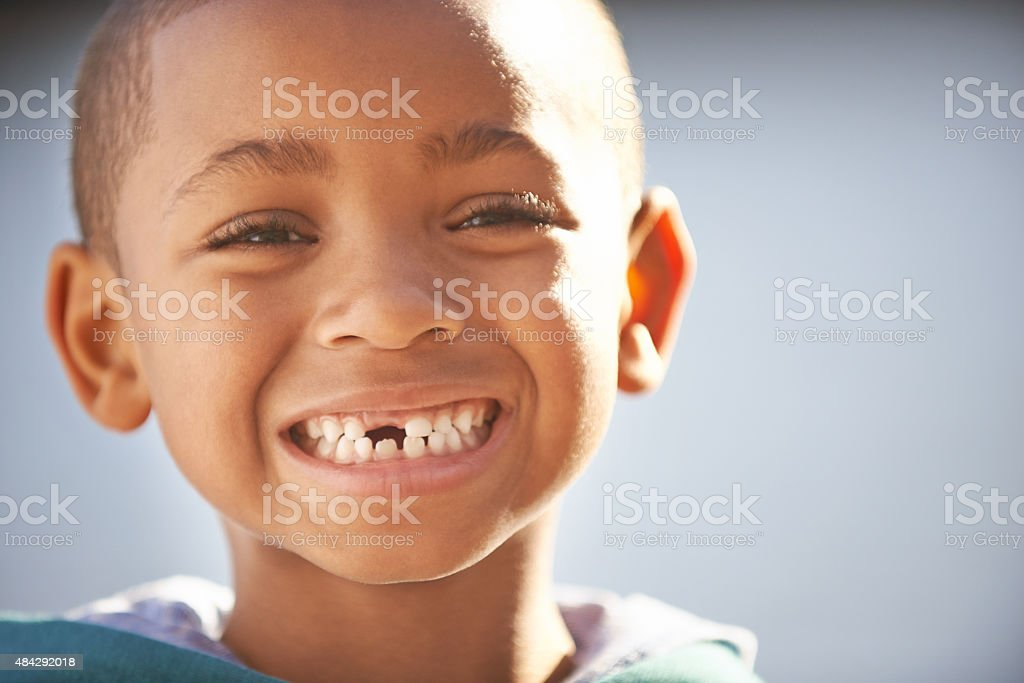 If you're happy and you know it stock photo