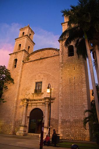 Iglesia de Jesús Church, Merida Cathedral of Merida Yucatan, Mexico