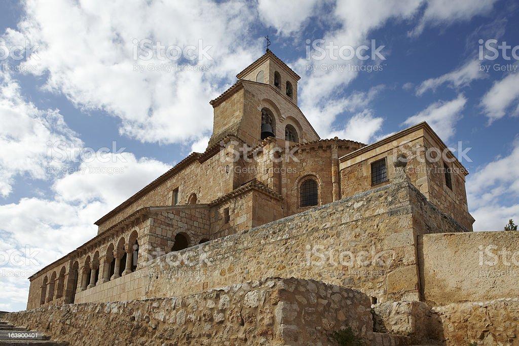 Iglesia de Nuestra Señora del Rivero stock photo