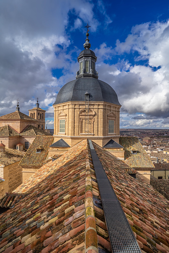 Iglesia de San Ildefonso, a Baroque style located in the center of the historic city of Toledo, in Castile-La Mancha, Spain.A Jesuit church consecrated to Saint Ildefonso of Toledo, patron of the city and Father of the Church.