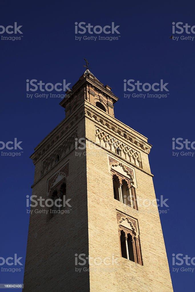 Iglesia de San Marcos (Church of St. Mark), Seville royalty-free stock photo