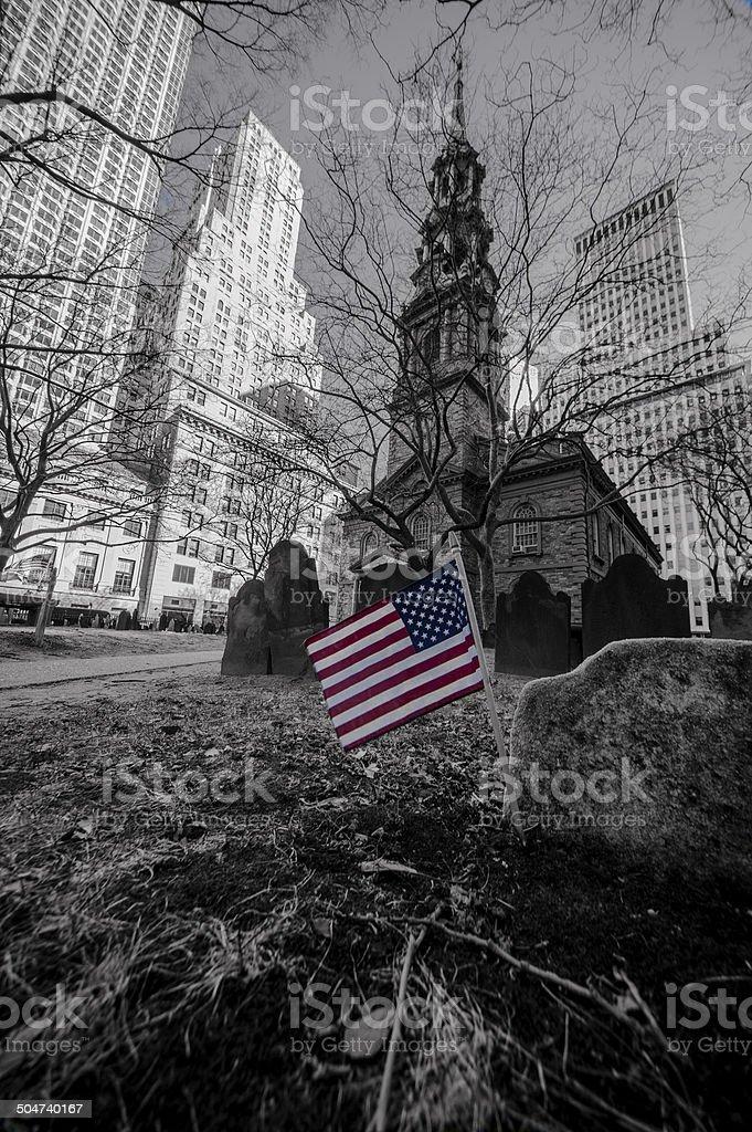 Iglesia en EEUU - foto de stock
