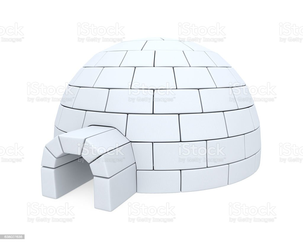 Igloo ice house stock photo more pictures of alaska us state igloo ice house royalty free stock photo pooptronica