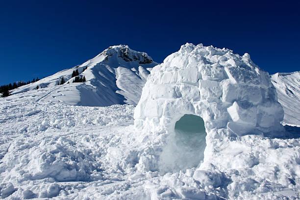 Schnee-Iglu – Foto