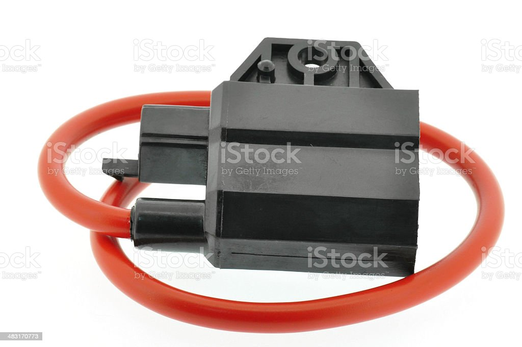 Ignition Coil Motorcycle Stock Photo - Download Image Now - iStock