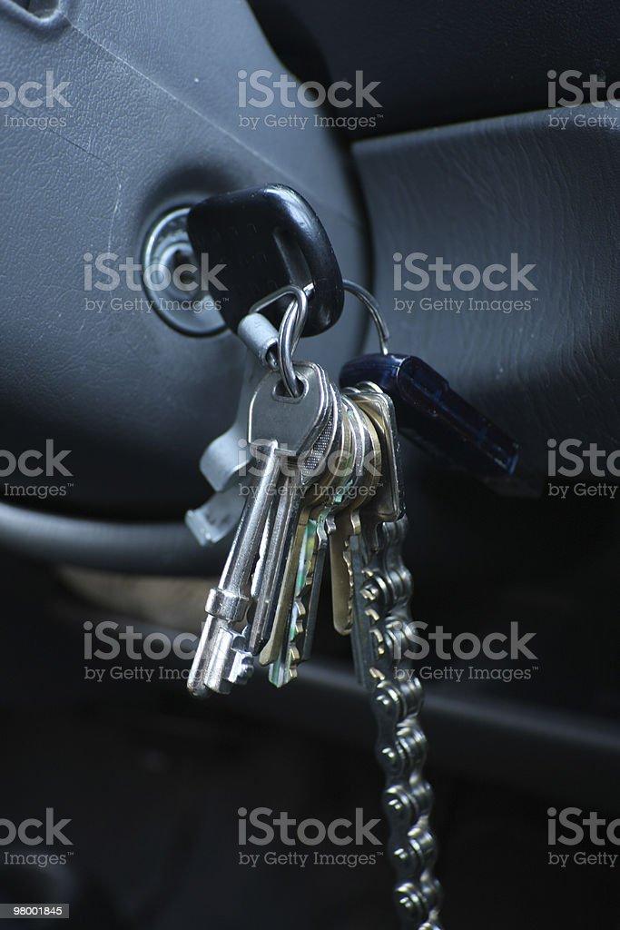 Ignition Keys royalty-free stock photo