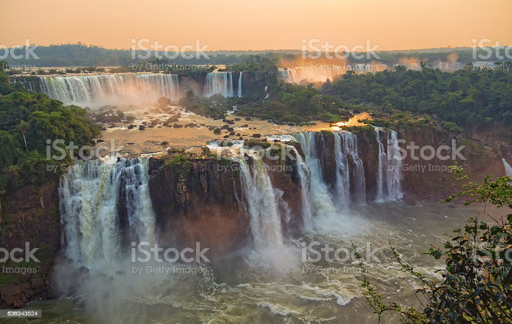 Iguacu Falls stock photo