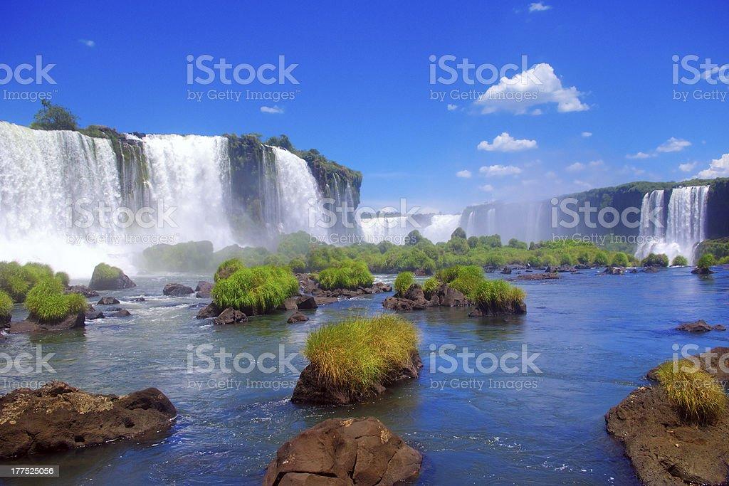 Iguacu Waterfalls, Brazil stock photo