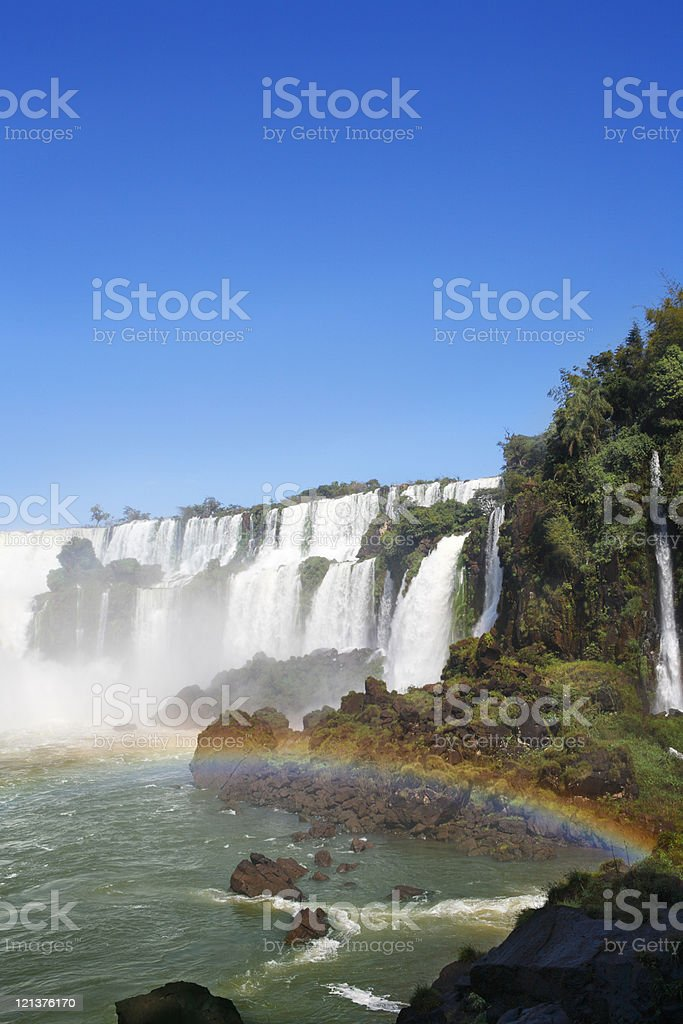 Iguassu Falls royalty-free stock photo