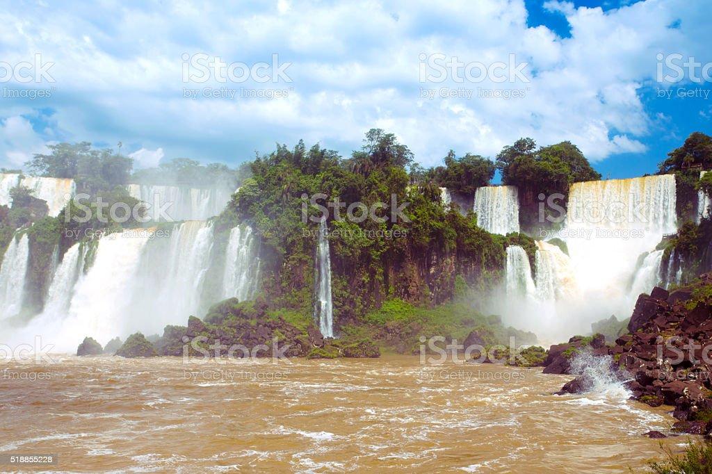 Iguassu falls - foto de stock