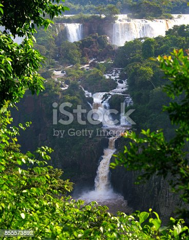 istock Iguassu falls 855573892
