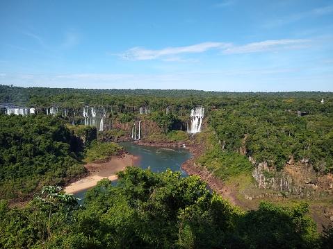 Iguaçu Falls - Iguaçu National Park - Foz do Iguaçu, State of Paraná, Brazil.