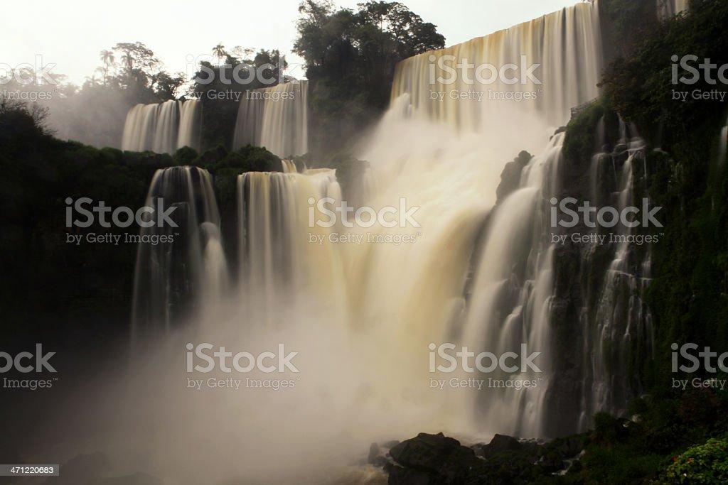 Iguazu Falls Argentina royalty-free stock photo