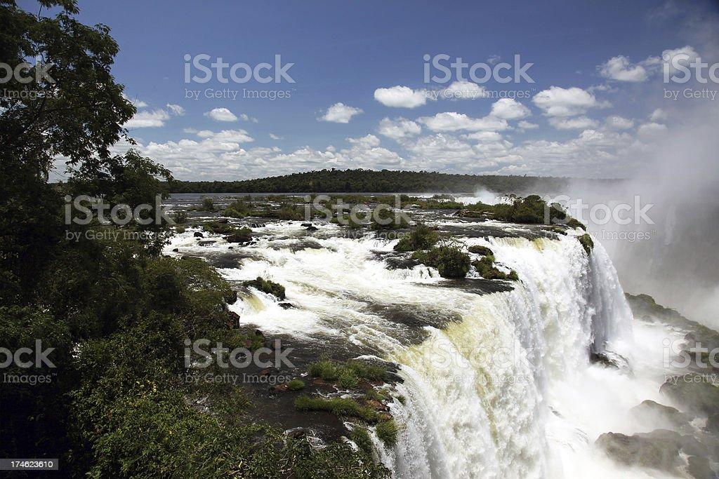 Iguazu Falls, Argentina Side royalty-free stock photo