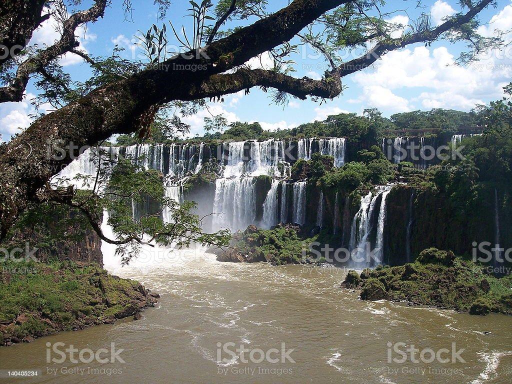 Iguazu Waterfalls royalty-free stock photo
