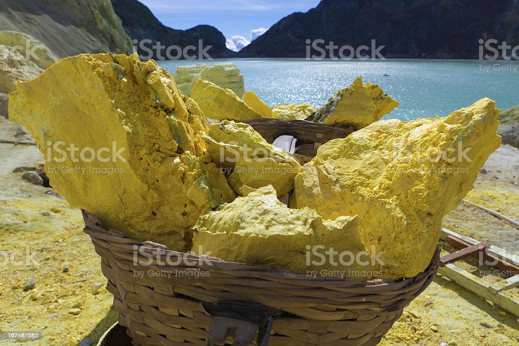 kawah ijen royalty-free stock photo