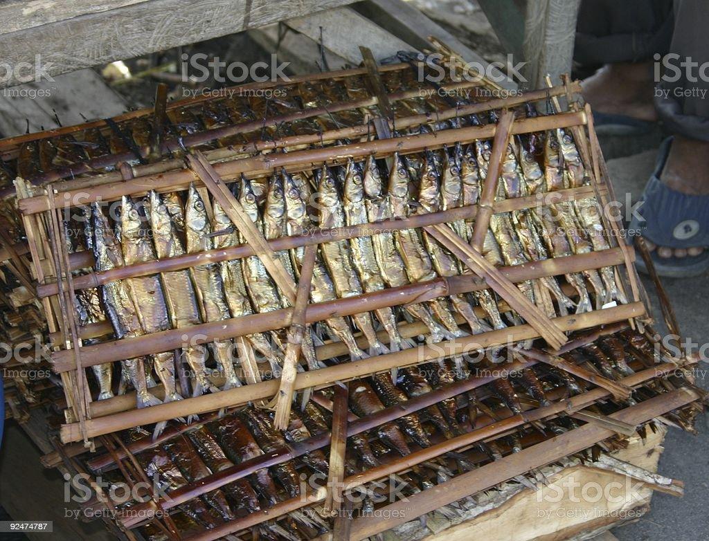 Ikan Bakar royalty-free stock photo