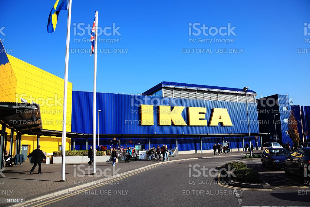 Ikea Furniture Retail Store royalty-free stock photo