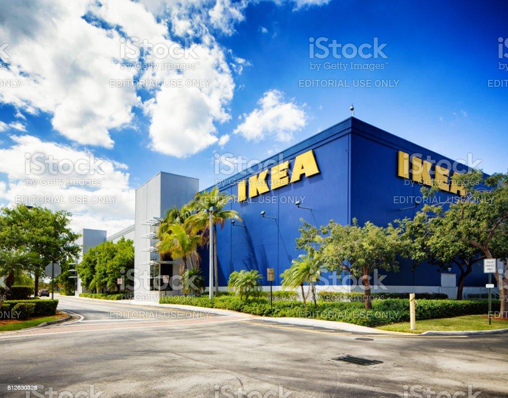 Ikea Furniture Store In Sunrise Florida Near Fort Lauderdale Stock