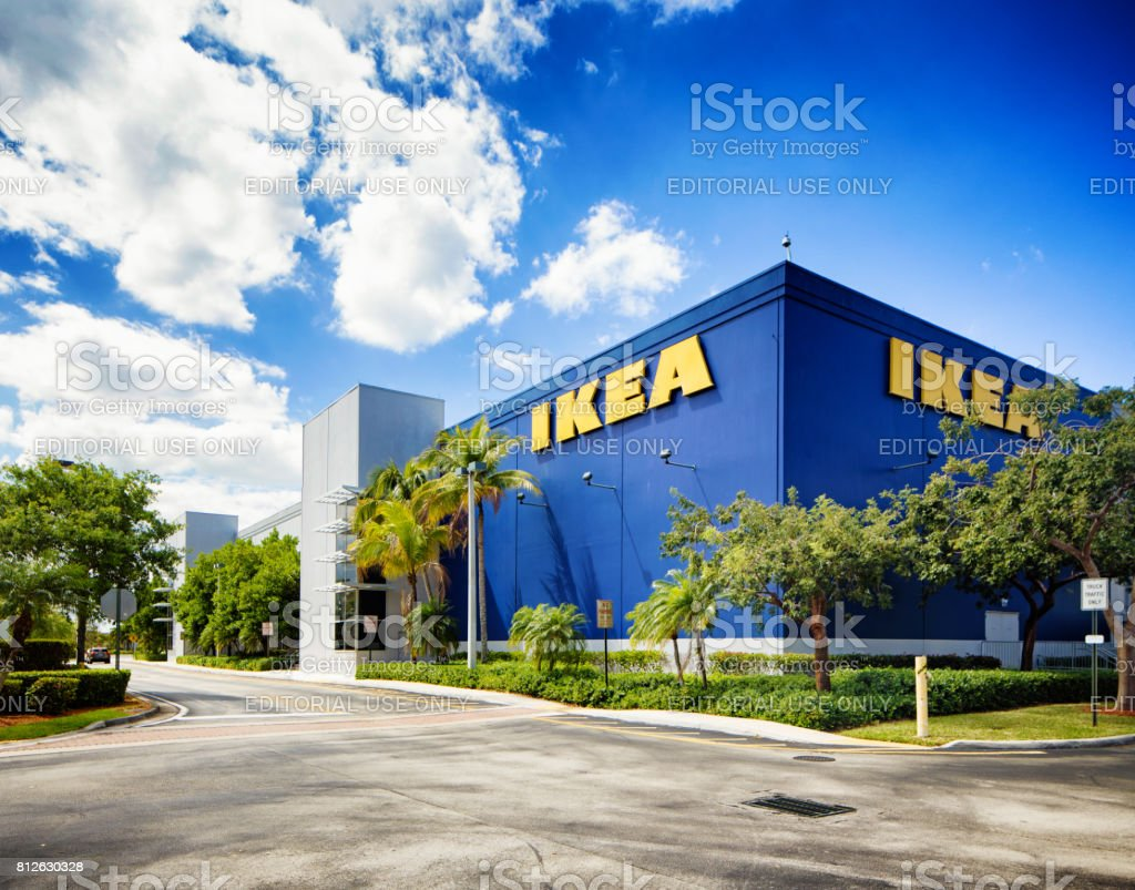Ikea furniture store in Sunrise Florida near Fort Lauderdale