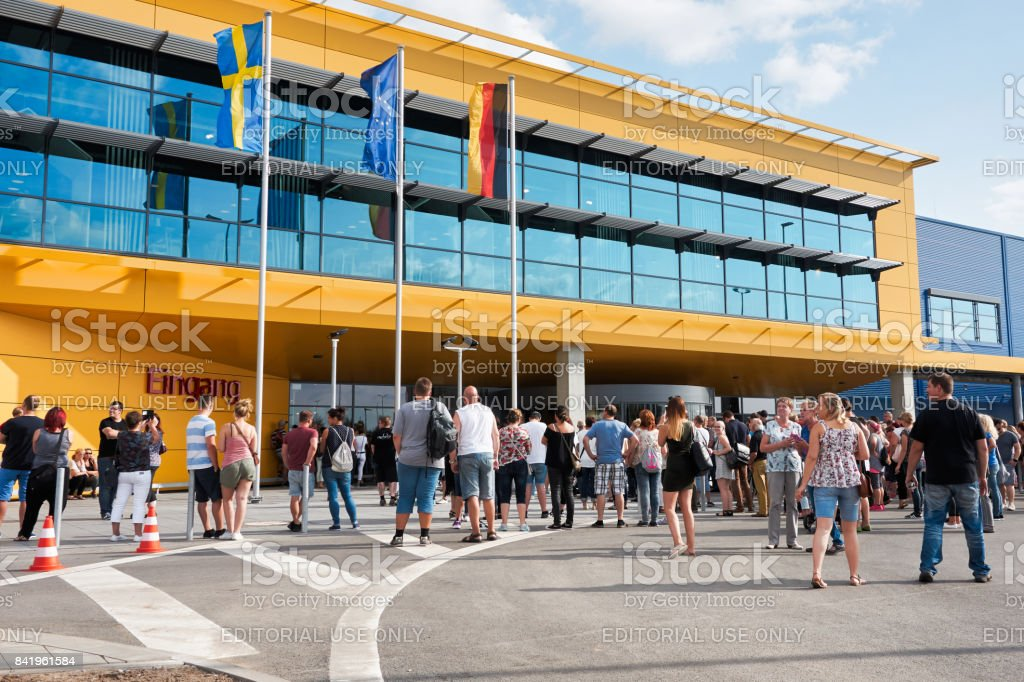 ikea in magdeburg stock photo more pictures of building