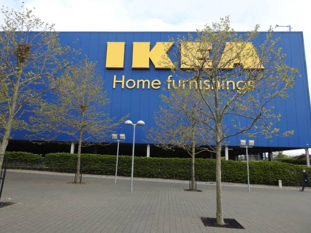 ikea-store - ikea stühle stock-fotos und bilder