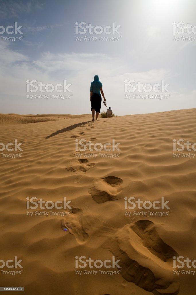 Il deserto - foto stock